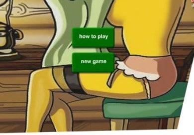 Desnuda a Marge Simpson