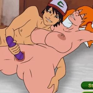 Una fiesta Pokémon llena de sexo