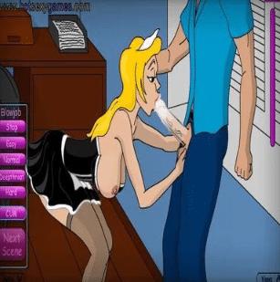 Una sirvienta que no sirve para cumplir su trabajo ¡Debes educarla!